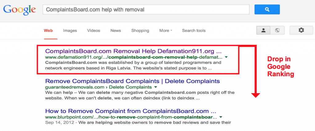 How to remove bad links from Google?